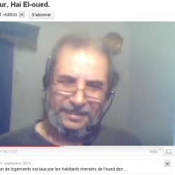Témoignage de soutien aux protestants de Hai El oued Sougueur