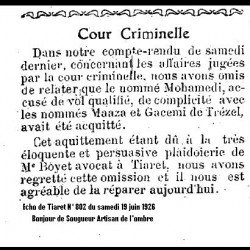 Affaire Mohamedi Maazza -et Gacemi