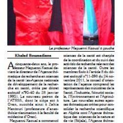 TLEMCEN: Le professeur Meguenni Kaoual nommé directeur de l'ATRSS par Khaled Boumediene