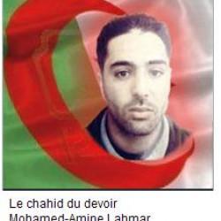 MAhdia (Tiaret) : Le chahid du devoir Mohamed-Amine Lahmar honoré à titre posthume
