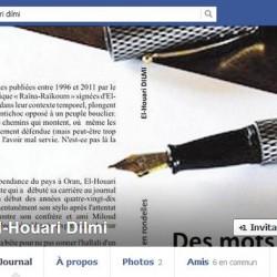 Face book El Houari Dilmi