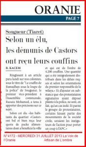 Sougueur (Tiaret) Selon un élu, les démunis de Castors ont reçu leurs couffins dans ASSEMBLEES raouia-mohamed-177x300