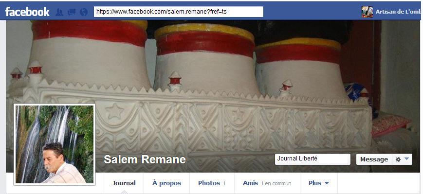 Facebook Salem Remane  dans Comptes Facebook salemremane