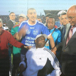 Ancien joueur de la JSMT et du MCO : Zaoui Mohamed amputé de la jambe gauche par El-Houari Dilmi
