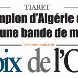 LE GANG SEMAIT LA TERREUR À TIARET-Un champion d'Algérie de boxe à la tête d'une bande de malfaiteurs